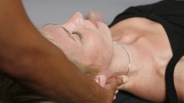 Lavendel-Massage